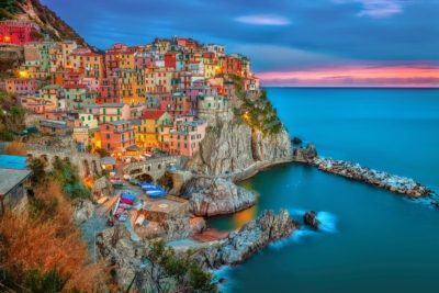 Cinque Terre - The pearl of Liguria, Italy.