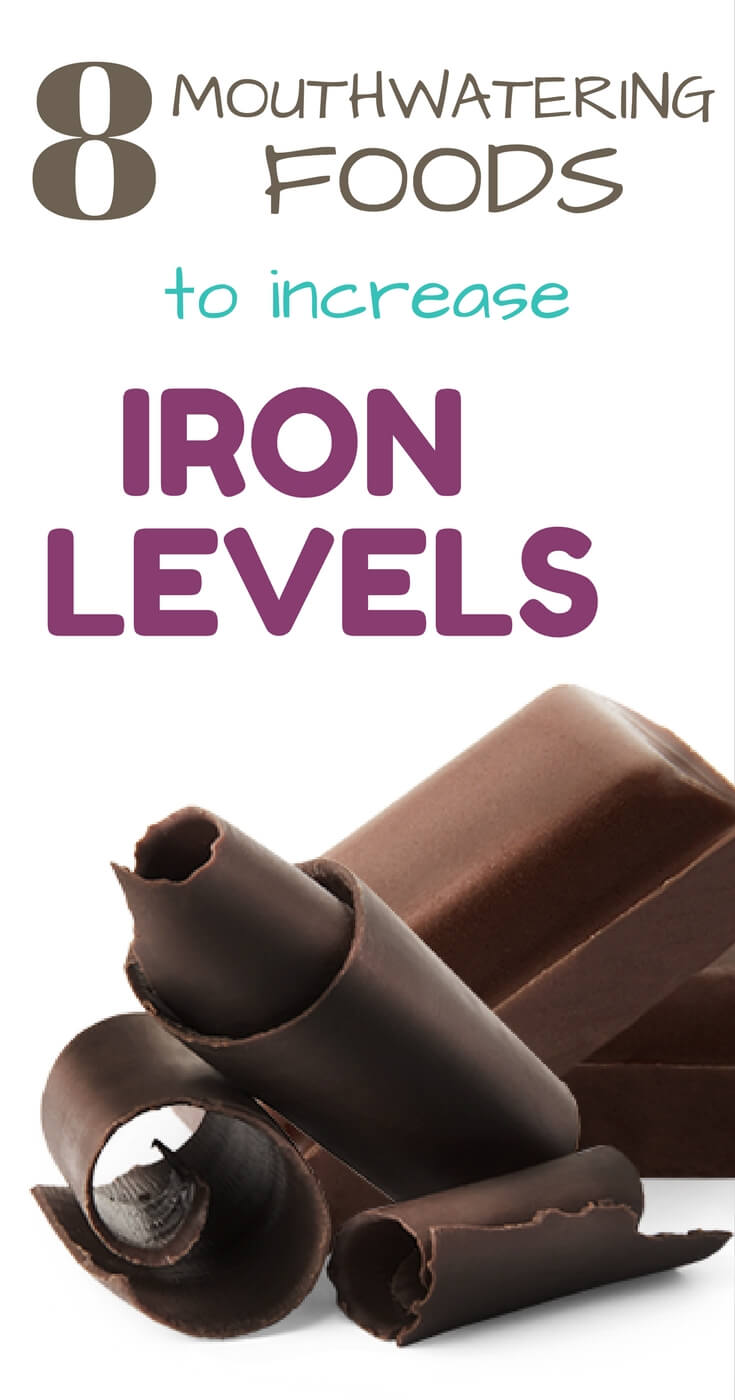 8 iron rich foods to raise iron levels