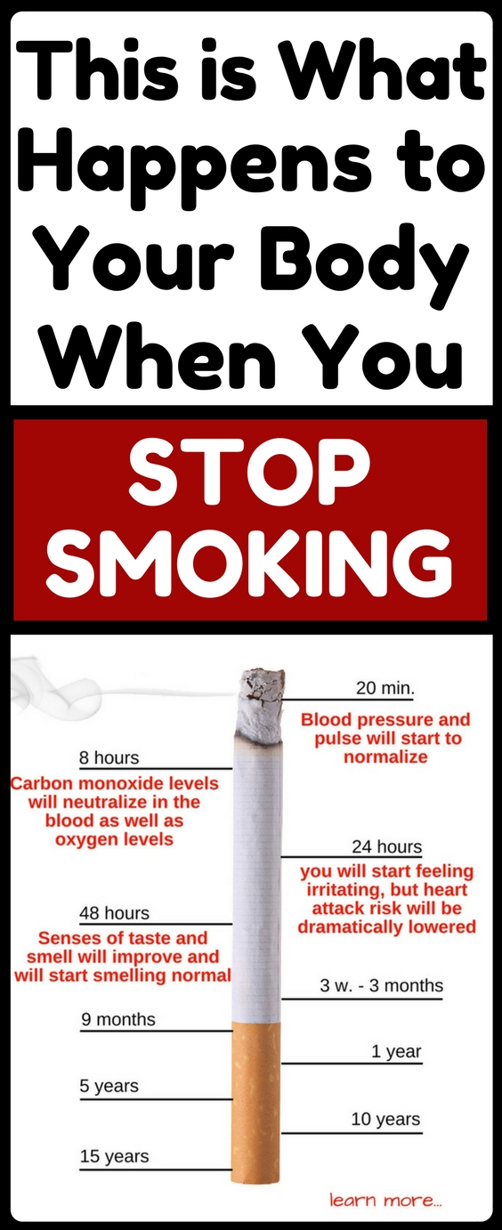 This Is What Happens To Your Body When You Stop Smoking