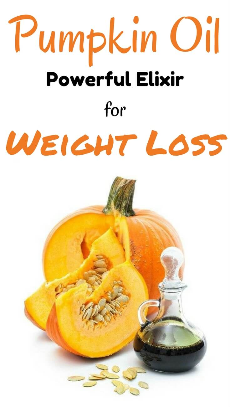 Pumpkin oil benefits for weight loss, fat burn, cellulite...