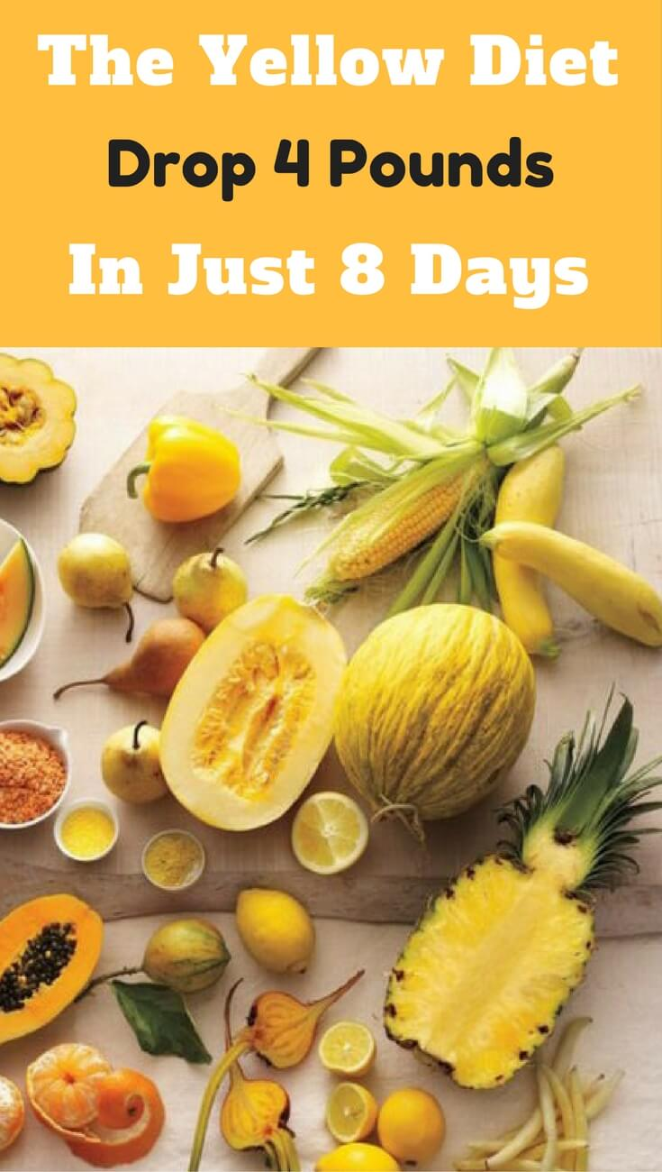 The yellow diet for weight loss and fat burn. Lose weight easily with this weight loss tip.