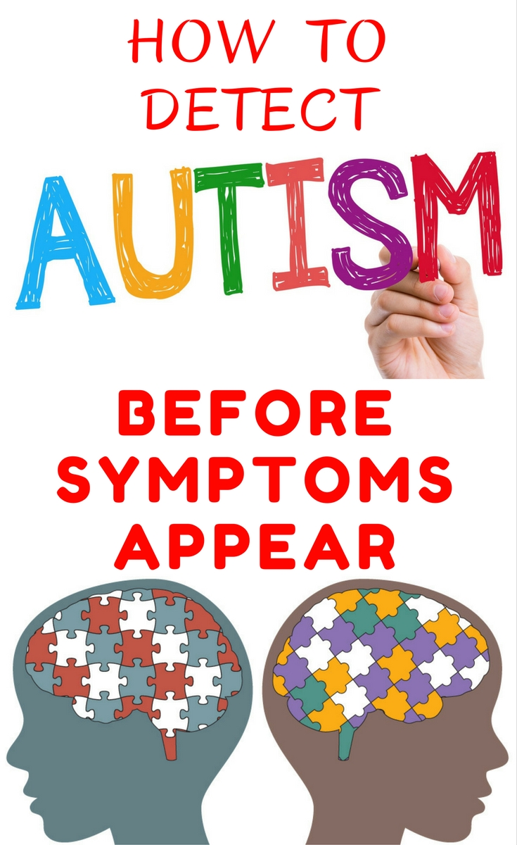 Autism awareness and how to detect autism symptoms before they appear.
