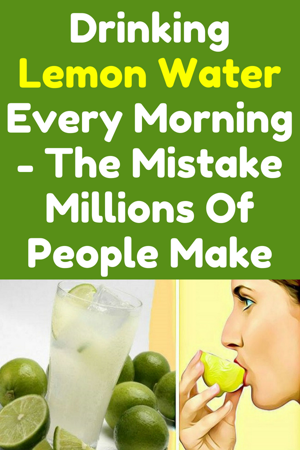 It is known that many people around the world drink detox lemon water first thing in the morning, right when they wake up. But, there are as well many people who can't stand the sour taste, but that one is a bad thing, because the super healthy lemon has many nutrients and can provide many health benefits.