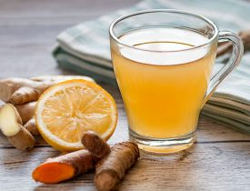Ginger Water: The Healthiest Drink For Fat Burn From The Waist, Back And Thighs