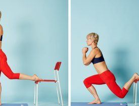15 Exercises For A Perfectly Toned Body And Weight Loss You Can Do At Home